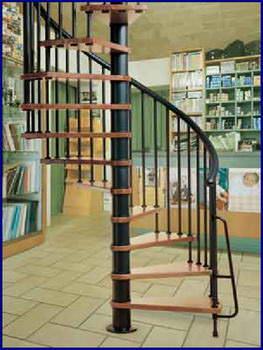 Oval Dubleks Daire Merdivenleri 9