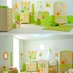 bebek odası hazırlamak - sirin bebek mobilya seti 150x150 - Bebek odası dekorasyon fikirleri