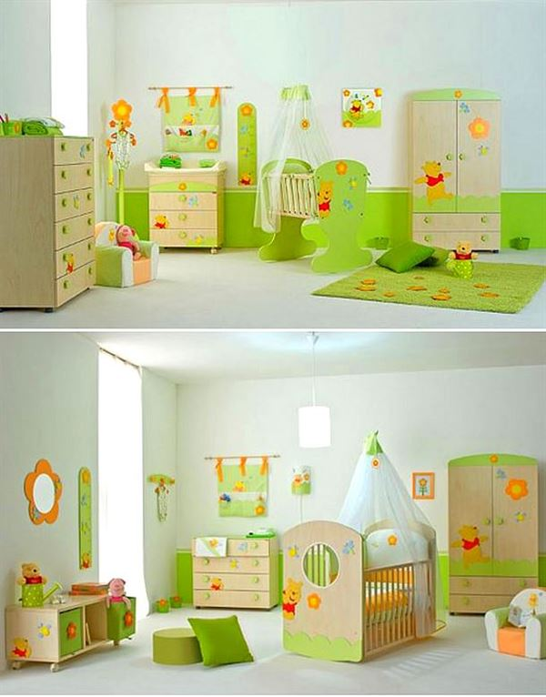 Bebek odası dekorasyon fikirleri 19