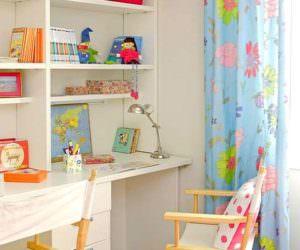 Ufak Çocuk Odası Çalışma Masası Modelleri