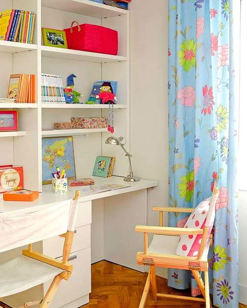 Ufak Çocuk Odası Çalışma Masası Modelleri 8