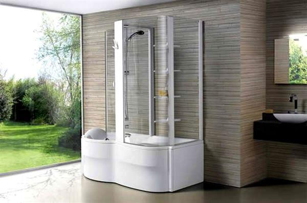 Buharlı Modern Duşa Kabin Modelleri 16