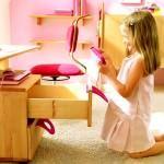 Şirin Kız Çocuk Odası Mobilya Modeli 11