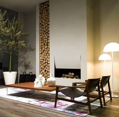 Şömineli Ev Dekorasyon Modelleri 16