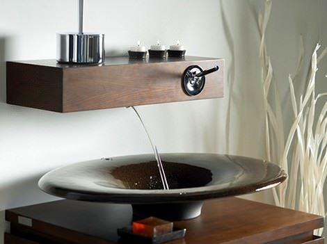 İlginç Farklı Banyo Lavabo Tasarımları 14