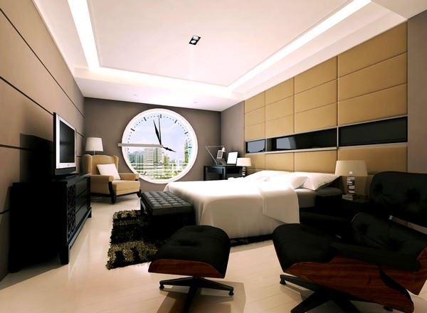 Ultra Suit Tarzı Yatak Odası Dekorasyonları 13