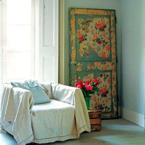 Duvar Kağıdıyla İç Kapı Süslemeleri 8