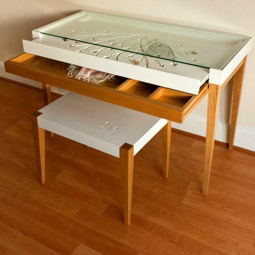 Farklı Değişik Tasarım Tuvalet Masası Modelleri 11