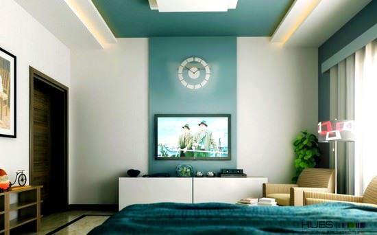 teal-white-tv-entertainment duvar süslemeleri - teal white tv entertainment - Yatak Odası Duvar Süslemeleri