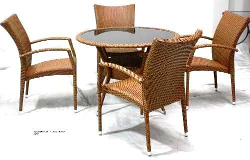 Tekzen Masa Sandalye Setleri 4