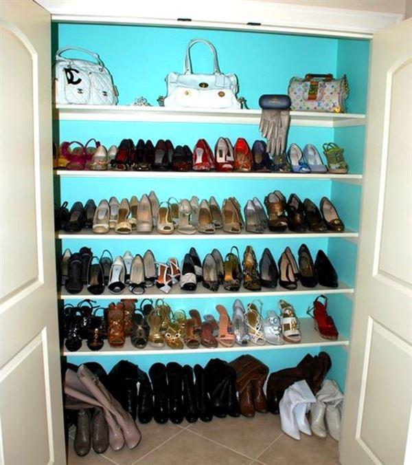 Ayakkabı Saklama Depolama Dolap Fikirleri 7