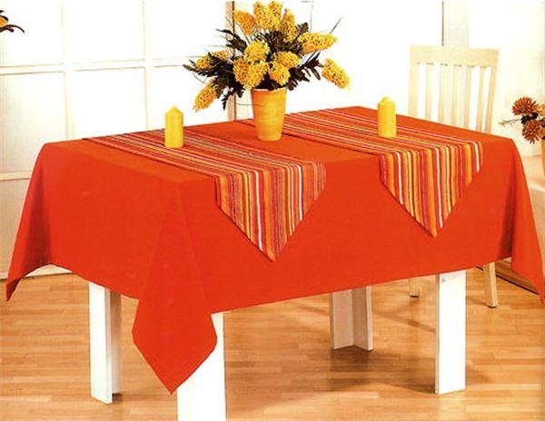 Kumaş Yemek Masa Örtüsü Modelleri 6