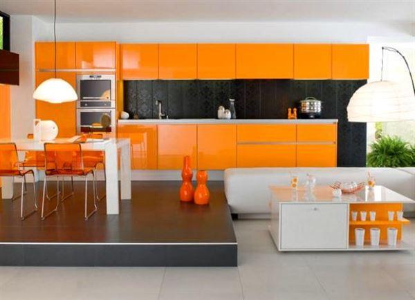 turuncu-mutfak-modeli