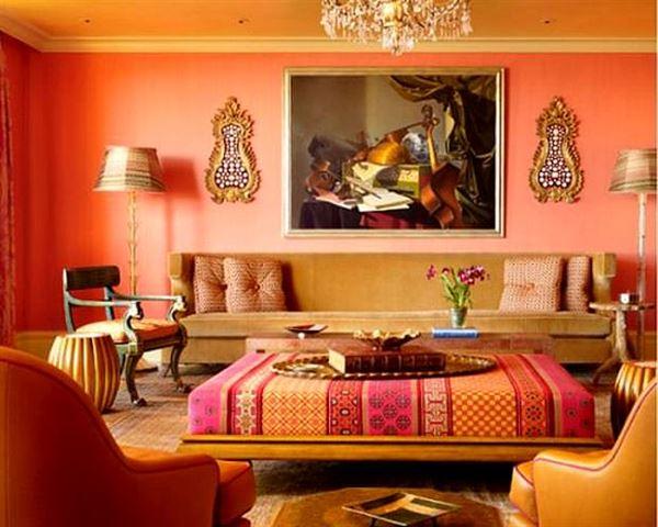 Turuncu Renkle Ev Renk Dekorasyonları turuncu renkle ev renk dekorasyonları - turuncu oda renk stili - Turuncu Renkle Ev Renk Dekorasyonları