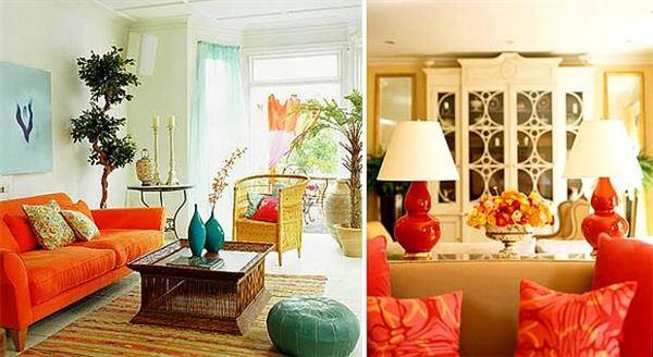 Turuncu Renkle Ev Renk Dekorasyonları turuncu renkle ev renk dekorasyonları - turunucu mobilya - Turuncu Renkle Ev Renk Dekorasyonları