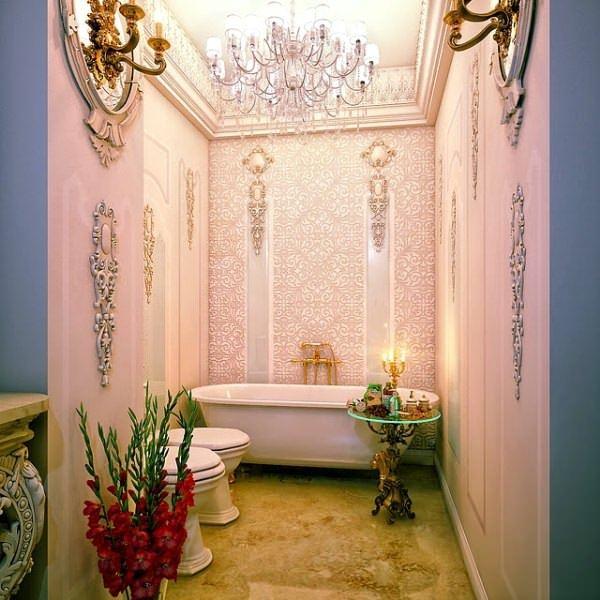 Ultra Lüks Dekorasyonlu Banyo Örnekleri 28