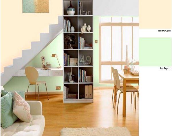 vanilya-buz-beyazi marshall boya renkleri - vanilya buz beyazi - Marshall Boya Yeni Sezon Boya Renkleri