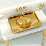 vitra 2013 banyo dekorasyon Ürünleri - vitra altin sarisi lavabo modeli 150x150 - Vitra 2013 Banyo Dekorasyon Ürünleri