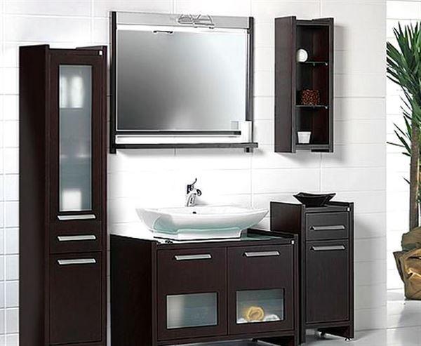 Ahşap Banyo Dolap Modelleri Ve Renkleri 7
