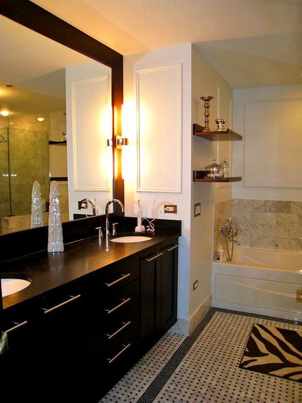 banyo depolama alanları dekorasyon stilleri - wenge banyo dolap modelleri - Banyo Depolama Alanları Dekorasyon Stilleri
