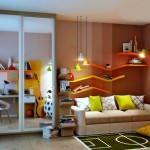 Çocuk Odasına Renkli Eğlenceli Dekorasyon Stilleri 10