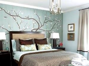 Yatak Odası Duvar Kağıt Desenleri