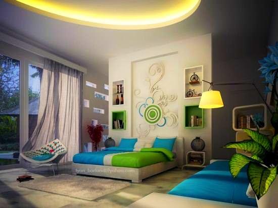 yatak-odasi-duvar-susleme-ornekleri duvar süslemeleri - yatak odasi duvar susleme ornekleri - Yatak Odası Duvar Süslemeleri