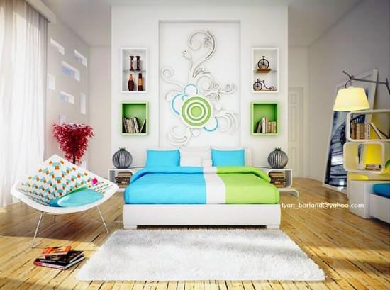 yatak-odasi-duvar-susleme-ornekleri1 duvar süslemeleri - yatak odasi duvar susleme ornekleri1 - Yatak Odası Duvar Süslemeleri