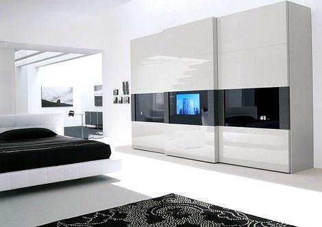 Yatak odası gardırop modeli