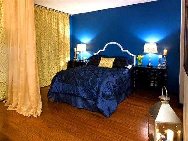 Yatak Odası Perde Fikirleri 8