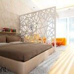 dekoratif yatak odası duvar süsleme Örnekleri - yatak odasi paravan 150x150 - Dekoratif Yatak Odası Duvar Süsleme Örnekleri