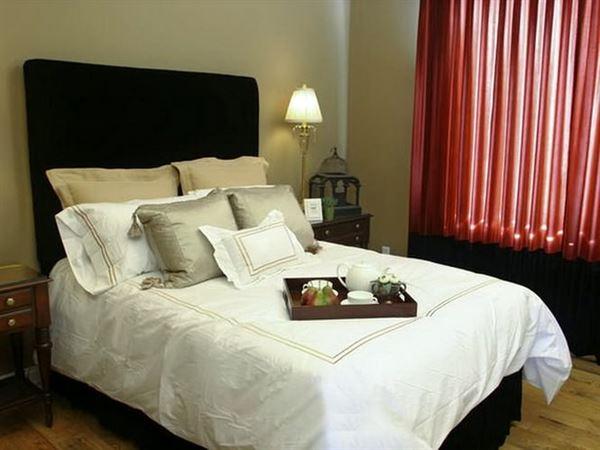 Yatak Odası Perde Fikirleri 4