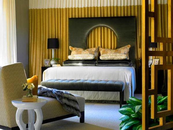 Yatak Odası Perde Fikirleri 1