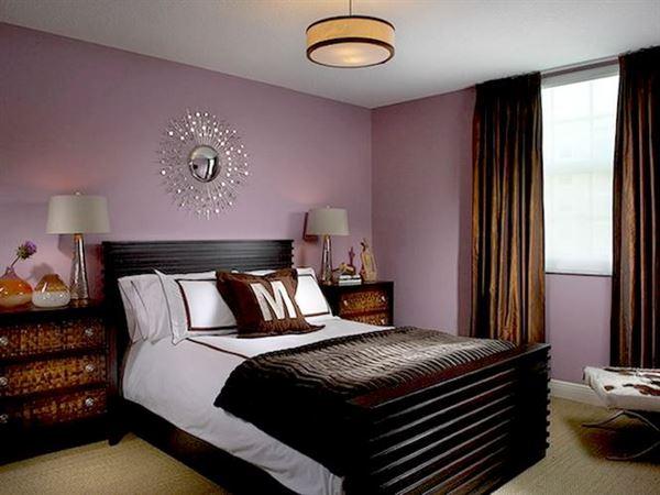 Yatak Odası Perde Fikirleri 5