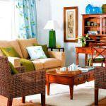 Renkli Yaza Özel Oturma Odası Dekorasyon Fikirleri 10