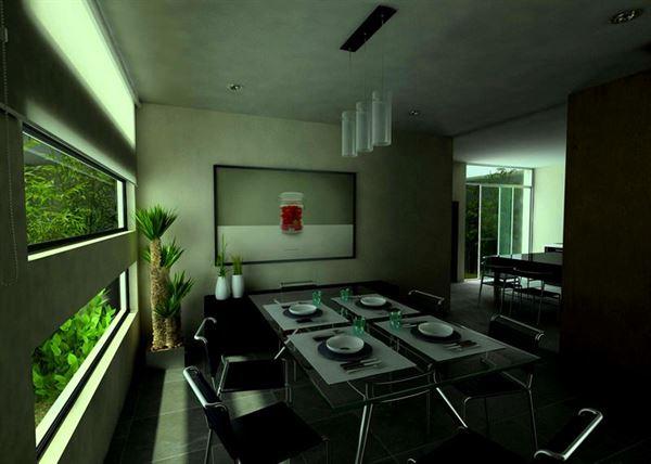 Modern Lüks Yemek Odası Tasarımları 15