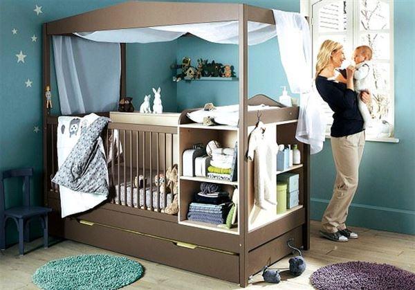 Sevimli Bebek Odası Dekorasyon Fikirleri 25