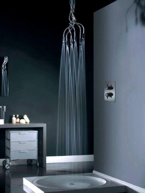 değişik duş başlıkları