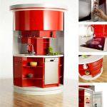 Küçük Farklı ilginç Mutfak Tasarımı 1