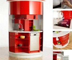 Küçük Farklı ilginç Mutfak Tasarımı