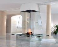 Şömineli Ev Dekorasyon Modelleri 17