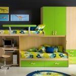 yeni model Çocuk odası ranza fikirleri - yesil cocuk odasi ranzasi1 150x150 - Yeni Model Çocuk Odası Ranza Fikirleri