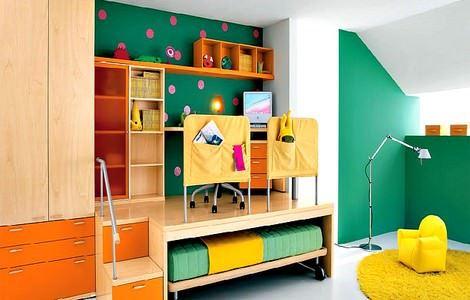 Çocuk Odası Dekorasyon Ve Mobilya Fikirleri 28