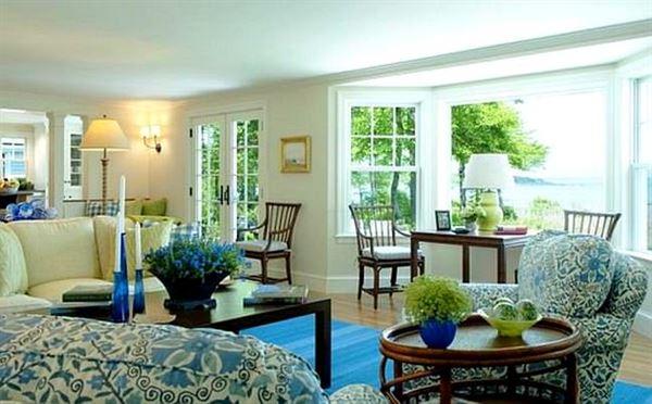 Oturma Odası Modern Renk Kombinasyonları 1