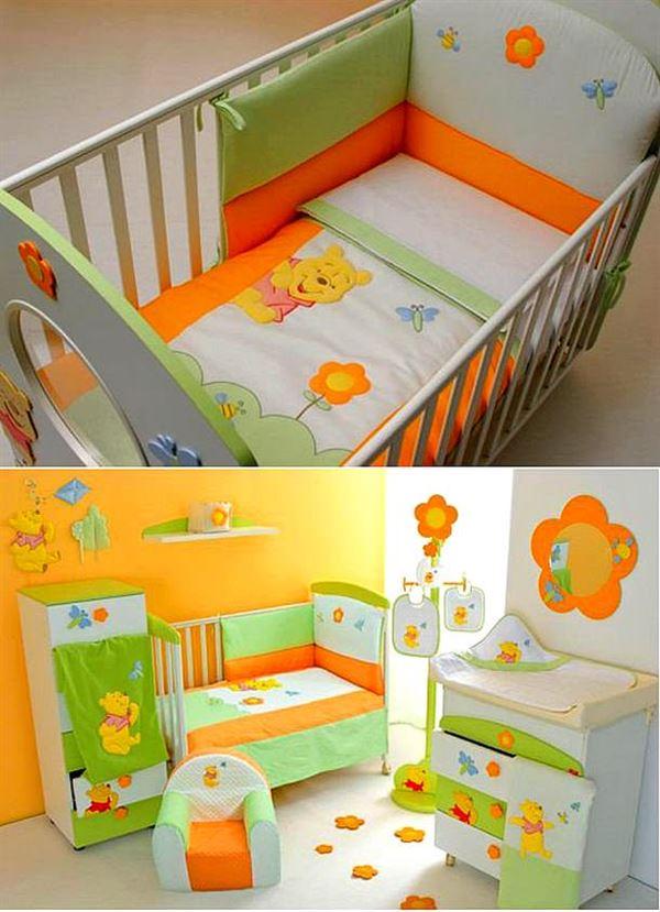 Bebek odası dekorasyon fikirleri 18
