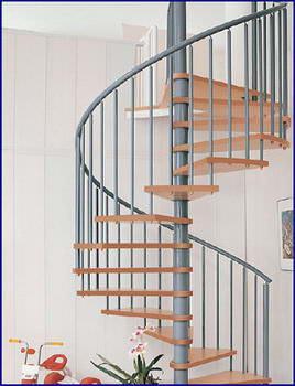 Oval Dubleks Daire Merdivenleri 13