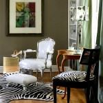 zebra-desenli-ic-dekorasyon