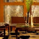 zebra-desenli-salon hayvan desenli İç dekorasyon fikirleri