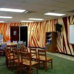 resimli duvar dekorasyonları - zebra duvar 150x150 - Değişik Resimli Duvar Dekorasyonları