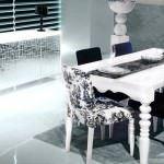 zebrano beyaz yemek odası zebrano mobilya yemek odası modelleri